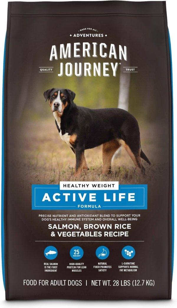 Active Life 三文鱼减重狗粮28磅
