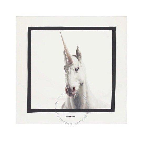 Unicorn Print 独角兽方巾