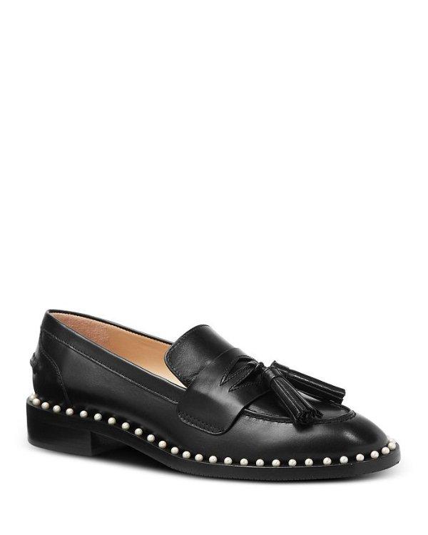珍珠乐福鞋