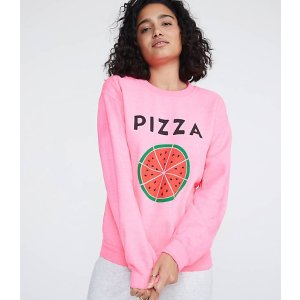 LOU & GREYRxmance Pizza Sweatshirt