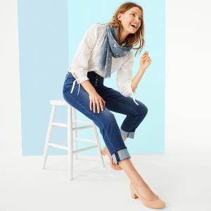 低至6折+额外8.5折限今天:LOFT Outlet 舒适系列美衣热卖