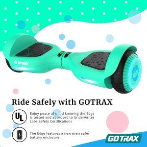 GOTRAX Edge 双电机体感平衡车 绿色