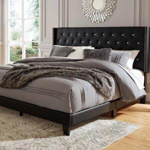 Vintasso Queen Upholstered Bed | Ashley Furniture HomeStore