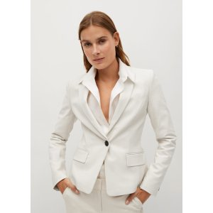 Mango30% off $180Structured suit blazer - Women | Mango USA