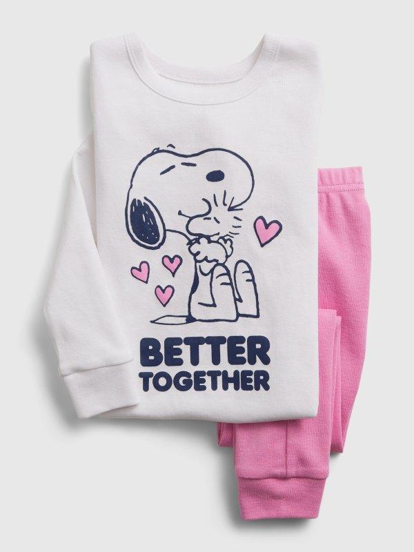 Peanuts Snoopy 睡衣套装