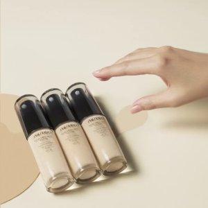 7折 $26.6收温和洁面膏+送3小样Shiseido 资生堂折扣区热卖 收温和洁面膏 轻薄持久粉底液