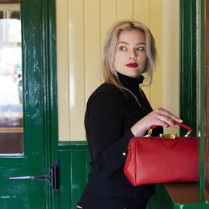 The Cambridge Satchel CompanyThe Sophie - Shanghai Red Calf Grain
