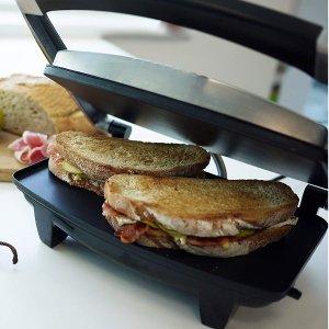 闪购:Breville 三明治/帕尼尼四层压制烤面包机