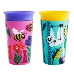 Munchkin® Miracle® 360 WildLove 2-Pack 9 oz. Sippy Cups