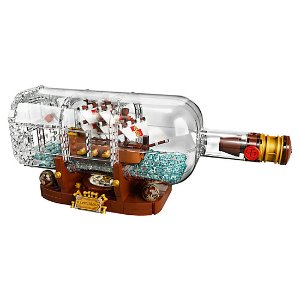 $89.99LEGO 发布新品 Ideas系列之瓶中船 21313
