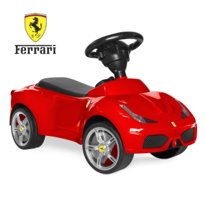 Ending Soon: Kids Ferrari 458 Foot-to-Floor Sports Ride-On Push Car Scooter w/ Horn