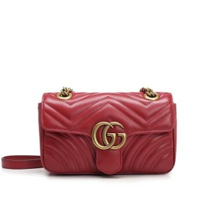 GucciGG Marmont Mini Shoulder Bag