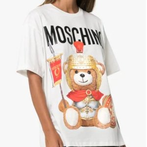 Moschino泰迪熊宽松短袖