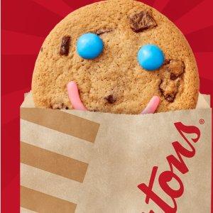 仅售$1,限9月17-23日Tim Hortons 慈善义卖笑脸Cookie又要来啦