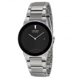 $89.99CITIZEN  Axiom Black Dial Men's Watch AU1060-51E