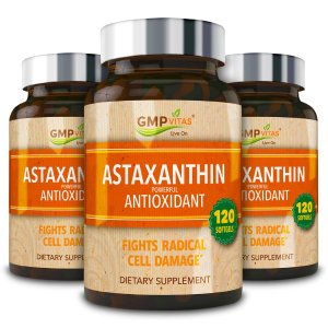 GMP VitasGMP Vitas® Astaxanthin Super Antioxidant 120 softgels 3-Bottle Bundle