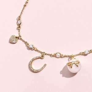 低至5折+额外7折  $30+收精美耳饰Kate Spade官网 精品珠宝、首饰、配饰折上折热卖