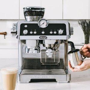 7折起 收全自动咖啡机De'Longhi、Breville 厨房小家电新年热购
