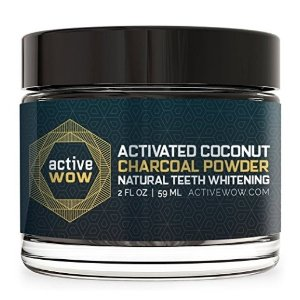 $9.99Active Wow Teeth Whitening Charcoal Powder Natural