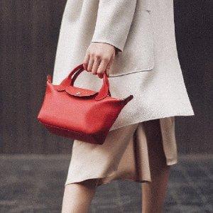低至5折 €51收经典饺子包今晚截止!Longchamp 超值闪促 经典饺子包、双肩包史低价