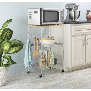 $36.49Whitmor Supreme 厨房滚轮多功能置物架