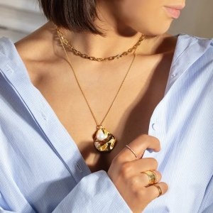 Monica Vinader珍珠项链组合