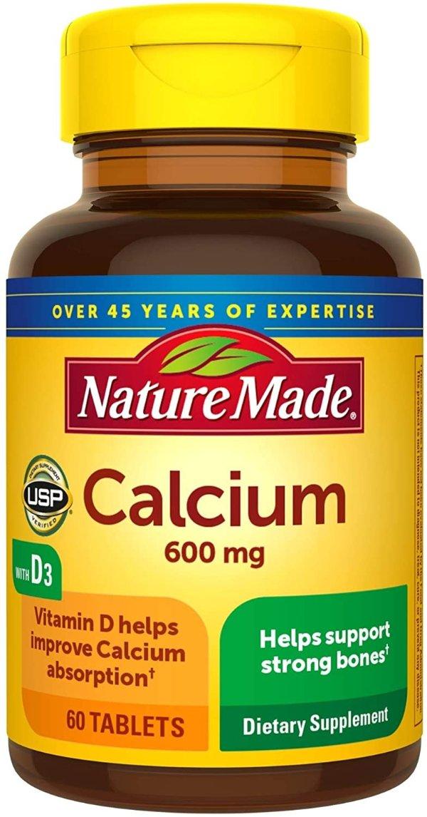 钙片 600 mg 60粒