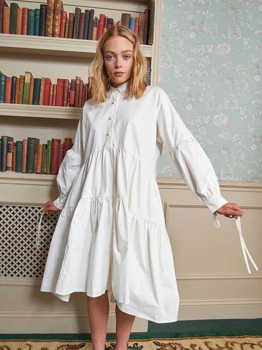 Endeavour 白色连衣裙