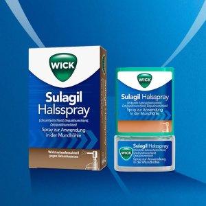 WICK 消炎止痛喷剂 味道清凉舒适 再也不怕咽喉肿痛