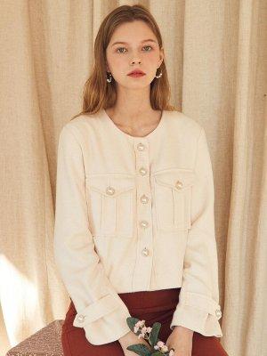 Rose Jacket Light Beige  | W Concept