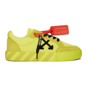 Off-White黄色运动鞋