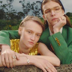 定价优势 $225收爱心手链Gucci 秋冬新款银饰上线 潮人穿搭加分利器