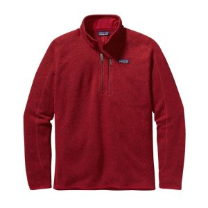 Patagonia Men's Better Sweater® 1/4拉链上衣