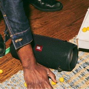 59折+新用户立减15欧史低价:JBL Flip Essential 便携式蓝牙音响 44欧收