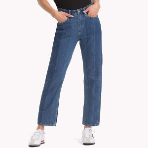 Tommy1990 High Rise Straight Cropped Jean | Tommy Hilfiger