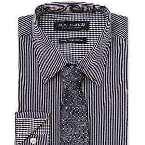 Macys 男士衬衫领带组合热卖 一步解锁商务范儿
