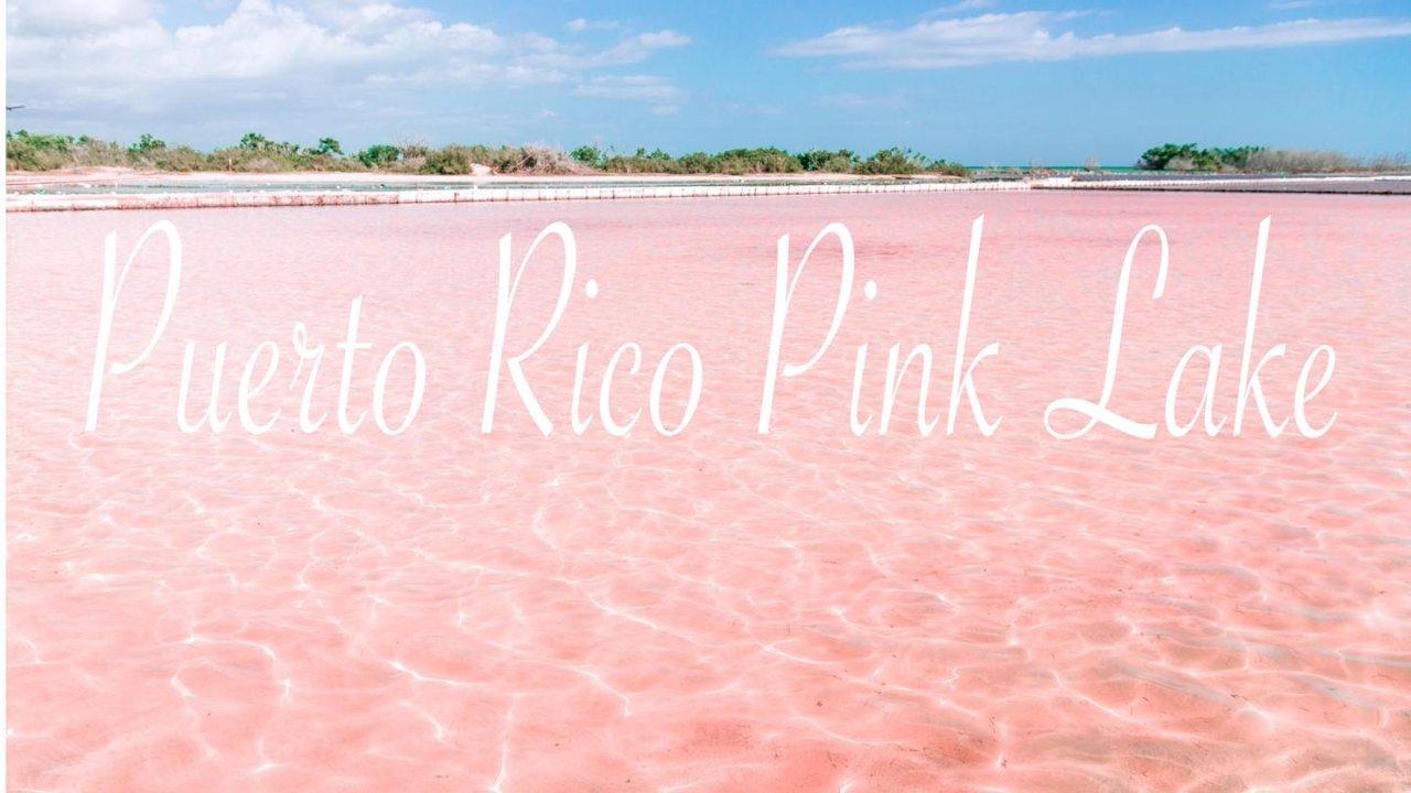 波多黎各🇵🇷漫游记(二) 小众景点❤️粉色盐湖&悬崖灯塔&天然石拱桥