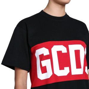 GCDSBAND LOGO TEE DRESS