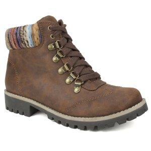 White Mountain针织短靴