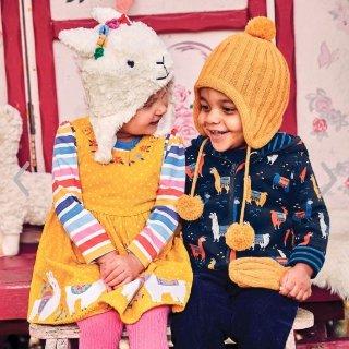 8折即将截止:JoJo Maman Bébé 秋冬款童装特卖 很多新品也参加