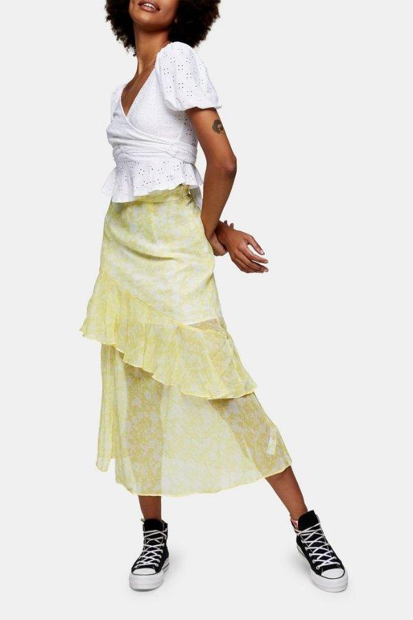 分层半身裙