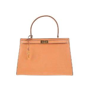 Tory Burch橘色手提包