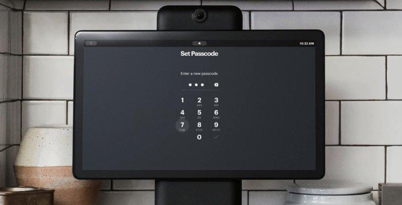 Facebook Portal 密码锁功能