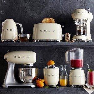 热水壶立减£10SMEG 高颜值复古 厨房小家电 多色可选