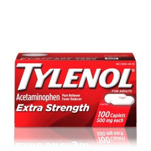 TYLENOL® Extra Strength Caplets, Fever Reducer and Pain Reliever, 500 mg, 100 ct. - Walmart.com