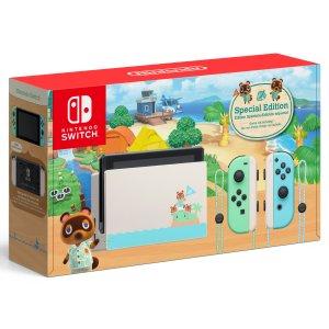 $299.99《动物森友会》限定版 Nintendo Switch 游戏主机