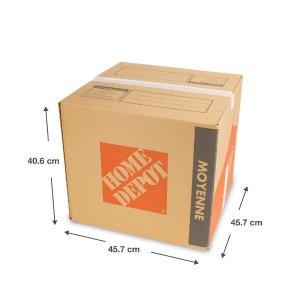 8thdays中号纸箱40.6*45.7*45.7cm