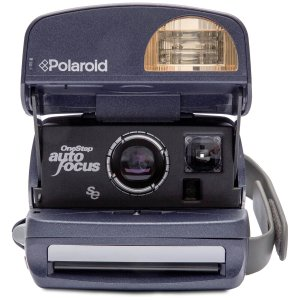 Polaroid送免费胶卷!600 照相机 圆形-复古翻新A级