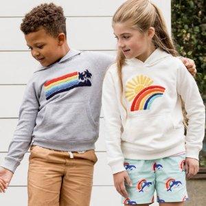 短袖、短裤和泳装额外6折Hanna Andersson 春款童装促销区 低至5折特卖