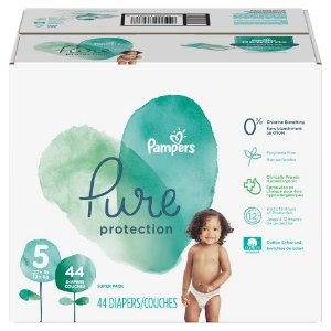 PampersPure Protection Diapers, Super Pack (Select Size)